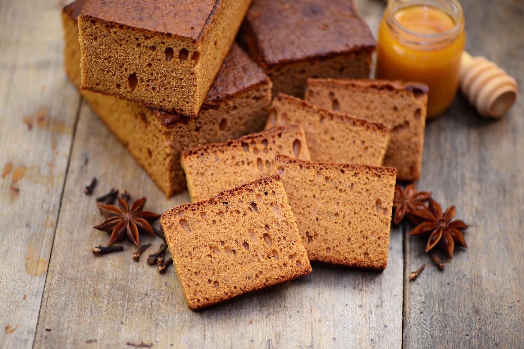 recette de pain d'épice avec farine prête ) l'emploi